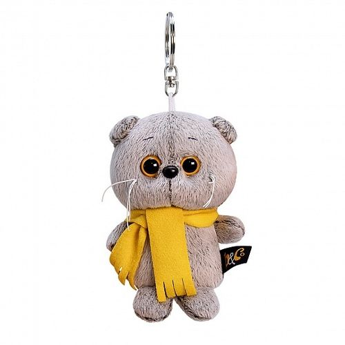 Key ring Basik in orange Scarf