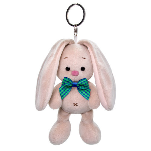 Zaika Keychain Bunny Mi with a blue bow